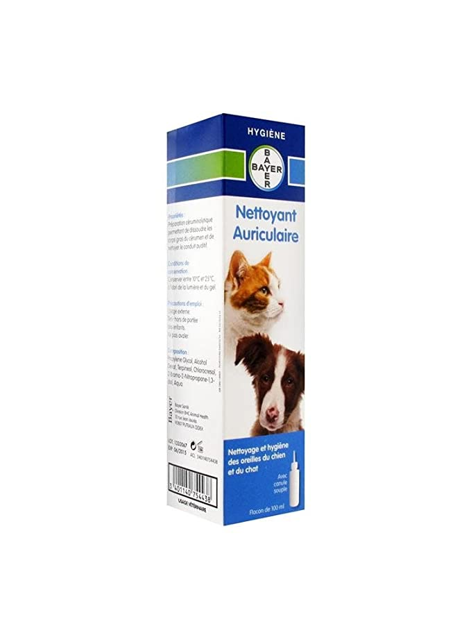Bayer Nettoyant Auriculaire 100 ml