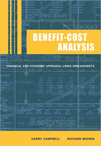 Benefit-Cost Analysis - Financial And Economic Appraisal Using Spreadsheets