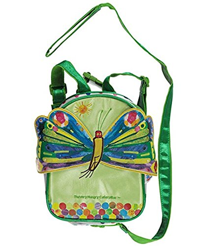 Eric Carle The Very Hungry Caterpillar Butterfly Green Backpack Harness H.I.S. Juveniles Inc. 70016