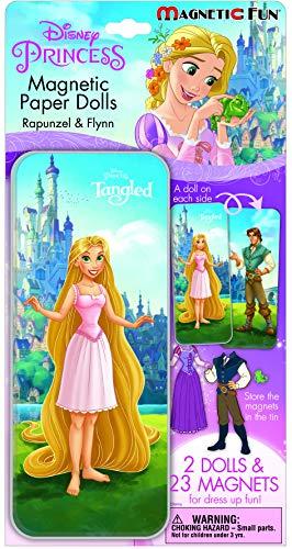 (Magnetic Fun® Mini Tin: Disney Princess - Tangled)