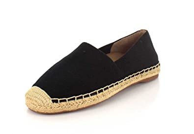 e3e62a8f6ba Vionic Womens Coast Valeri Slip-On Espadrille Flat Black Size 5