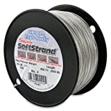 SuperSoftstrand Size 4 - 850-Feet Picture Wire Vinyl Coated Stranded Stainless Steel