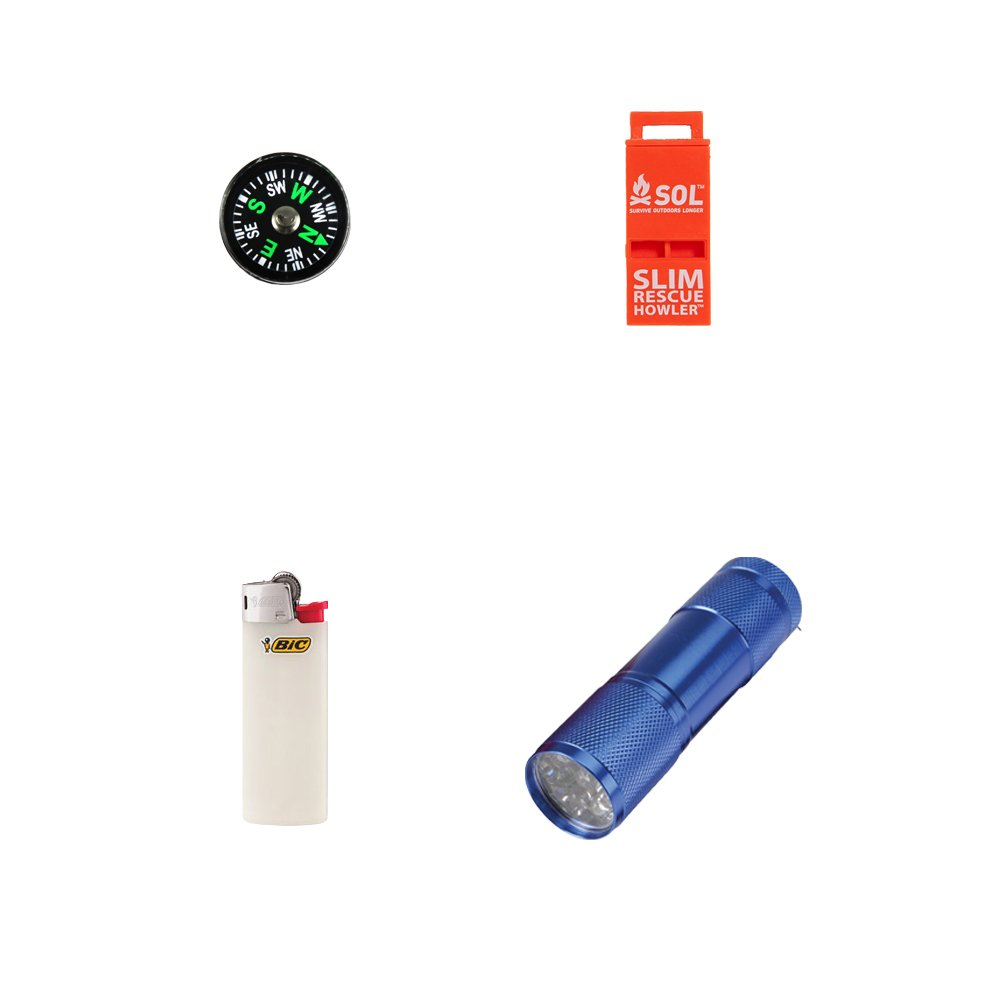 Emergency Survival Kit For Two People by Zippmo Survival Gear (Image #5)