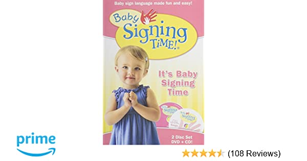 Amazoncom Baby Signing Time Dvd Vol 1 Its Baby Signing Time