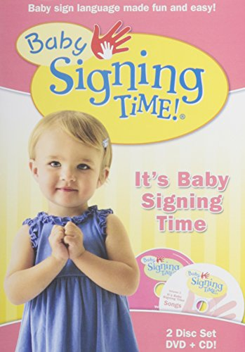 Asl Food Signs - Baby Signing Time DVD Vol. 1: It's Baby Signing Time with Music Cd