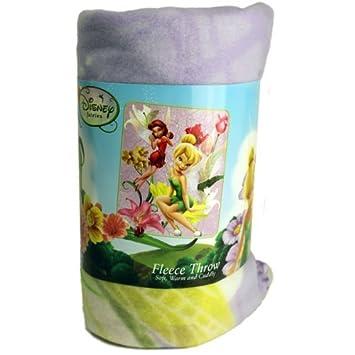 Amazon Tinkerbell Fairies Pixie Attitude Fleece Blanket Throw Best Tinkerbell Fleece Throw Blanket
