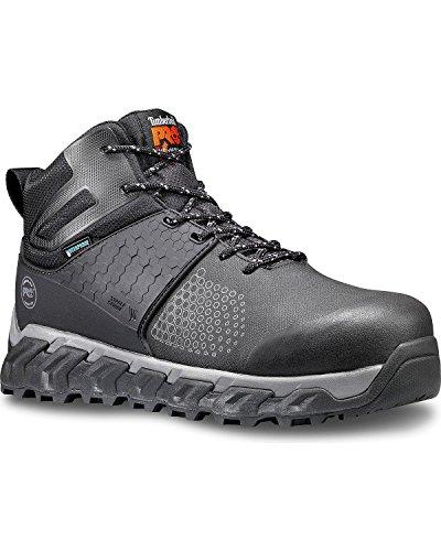 Waterproof Hiker Boot (Timberland PRO Men's Ridgework Mid Industrial Boot, Black, 12 M US)