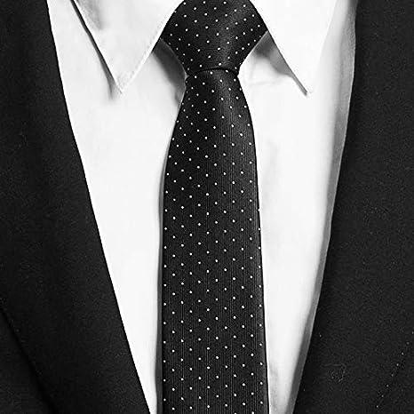 JUNGEN Corbata Informal de Hombres Corbata Lisa con Color Liso ...