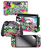"Nintendo Switch Skin & Screen Protector Set – Splatoon 2 ""Sound The Alarm"" – Nintendo Switch For Sale"