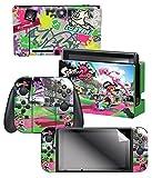"Nintendo Switch Skin & Screen Protector Set – Splatoon 2 ""Sound The Alarm"" – Nintendo Switch For Sale"