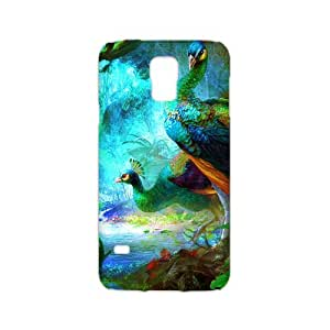 Colorful Peacock Hot Fashion Design Case for Samsung Galaxy S5 3D Style 01