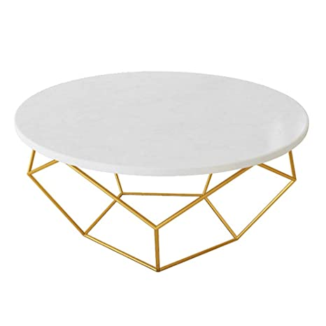 Awesome Amazon Com Yike Coffee Table White Round Marble Coffee Gmtry Best Dining Table And Chair Ideas Images Gmtryco