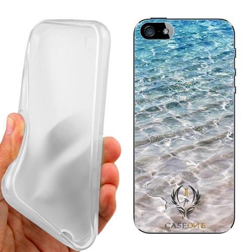 CUSTODIA COVER CASE SAND AND SEA PER IPHONE 5 5G 5S