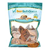 Best Bully Sticks Gourmet Chicken Breast Dog Treats (3lb. Value Pack) All Natural Dog Treats