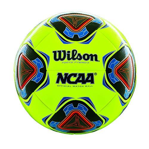 Wilson NCAA Forte Fybrid II Soccer Cup Game Ball - Optic Yellow