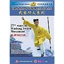 27th ways of Wudang Sword Movement