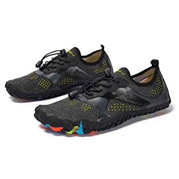 f66747f345ac6 lixada Water Shoes Barefoot Quick Dry Aqua Shoes Breathable Sports Exercise  Shoes for Men&Women Sporting Trekking Walking Swimming Diving Surfing