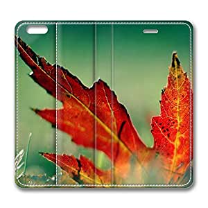 iPhone 6 Plus Case, Fashion Customized Protective PU Leather Flip Case Cover Autumn Scenes 15 for New Apple iPhone 6(5.5 inch) Plus