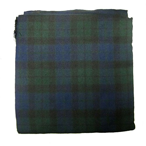 Mackay Modern Tartan Cloth/Fabric/Material 106 x 53 inches