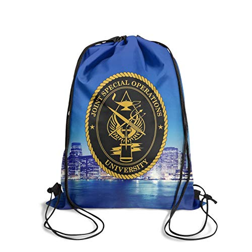 Florida Joint Special Operations Command Drawstring Backpack Best Gymgymsack Reusable Bag