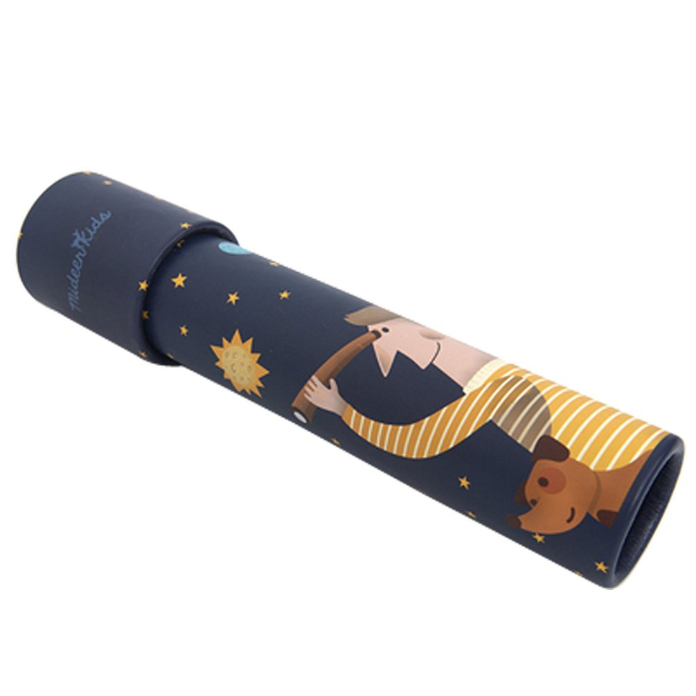 Classic Tin Kaleidoscope--moon night Feiwu