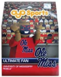 OYO NCAA Mississippi Old Miss Rebels Ultimate Fan Minifigure, Small, Black
