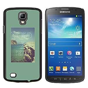 Stuss Case / Funda Carcasa protectora - Vacances Tropical Sun - Samsung Galaxy S4 Active i9295