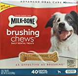 Milk Bone Brushing Chews (Small/Medium) 40 Dental Treats 31.4oz by Milk-Bone