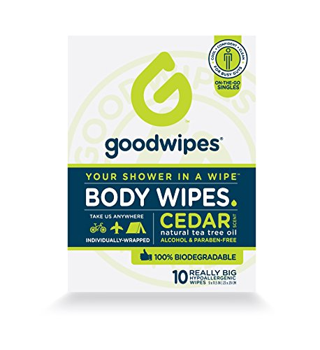 GoodWipes Biodegradable Cleansing Deodorizing individually