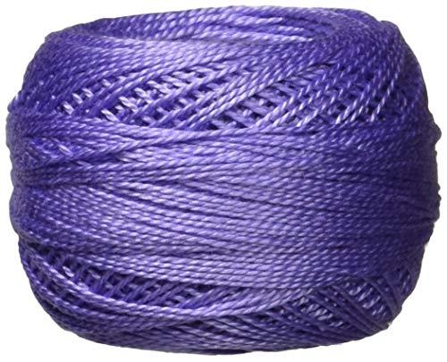 DMC 116 8-340 Pearl Cotton Thread Balls, Medium Blue Violet, Size 8
