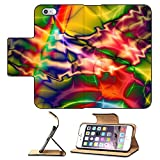 MSD Premium Apple iPhone 6 Plus iPhone 6S Plus Flip Pu Leather Wallet Case IMAGE ID 26303859 abstract colorful pattern based on fractal