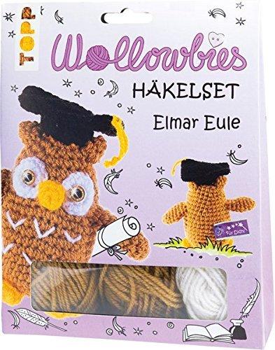 Wollowbies Häkelset Elmar Eule Amazonde Spielzeug