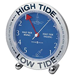 Howard Miller 645-527 Tide Mate III Weather & Maritime Table Clock by by Howard Miller