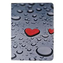 """Tab 4 10.1 Case,T530 Case,Ngift [Love] [Slim Fit] Folio Leather Stand [Wallet] Shell Cover with Card Holder Compatible for Samsung Galaxy Tab4 10.1"""" T530 T531 T535"""