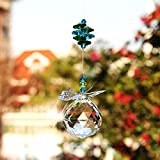 H&D 40 mm Handmade Butterfly Crystal Ball Prism