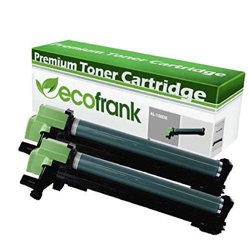 EcoFrank Compatible Drum Unit Sharp AL-100DR 13R551 (Black, 2-Pack)