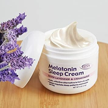 Melatonin Sleep Night Cream With Lavendar & Chamomile Miracle Plus