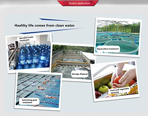 BAOSHISHAN 6g//h Ozone Machine Commerical/Ozone Generator Ozonizer Air Water Disinfection Purifier Deodorizer Sterilizer 110V