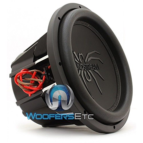 Soundstream T5.124 12 Inch 1000 Watts RMS Dual 4-Ohm T5 Series Subwoofer