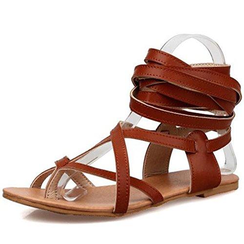 XINRD - zapatilla baja mujer marrón