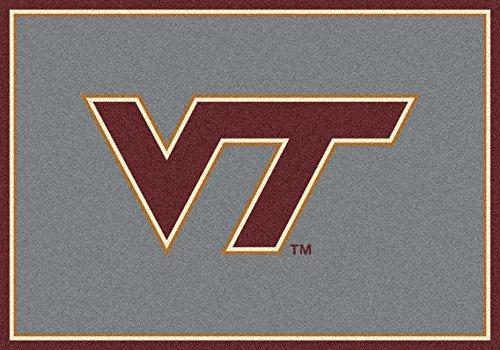 American Floor Mats Virginia Tech Hokies NCAA College Team Spirit Team Area Rug 2'8