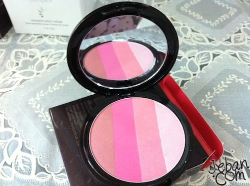 Beneficial Make up Gradation Compact Cheek Colours No.03 Dreamy - Compact Dior Mirror