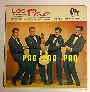 1955-58? Los Pao : Pao Pao Pao : Montisa Records LY-70091