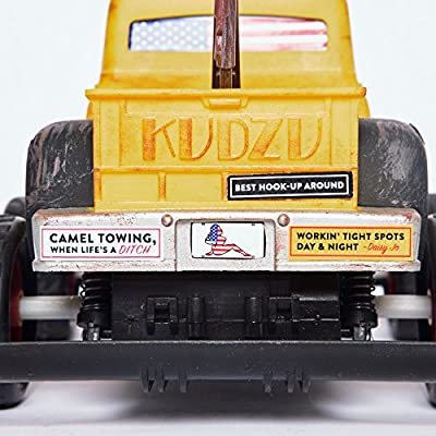 """Rated /""""R/"""" Grown Up Toy Redneck Roadkill Daisy Jo Camel Tow Truck Stand Up Billboards Road Signs /& Varmits for Smashing Radio Control Customize with Bumper Stickers /& Truck Ding Decals"""