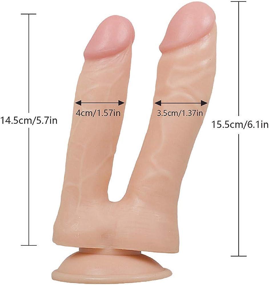 POLP consolador Doble Sexo Juguete consoladores sexuales Mujer ...