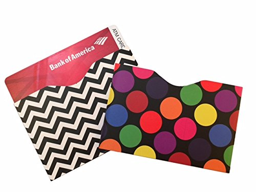 Credit Card Protector - Premium QUALITY RFID Sleeves in Designer Style 16 Credit Card RFID Blocking Sleeves. Stop Identity Theft