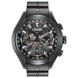 Citizen Watch CC1076-02E – Reloj analógico de cuarzo para hombre, correa de poliuretano color negro