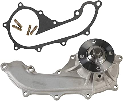 Water Pump W// Gasket for 2.7L Toyota 94-98 T100 96-00 4Runner L4 DOHC 3RZFE
