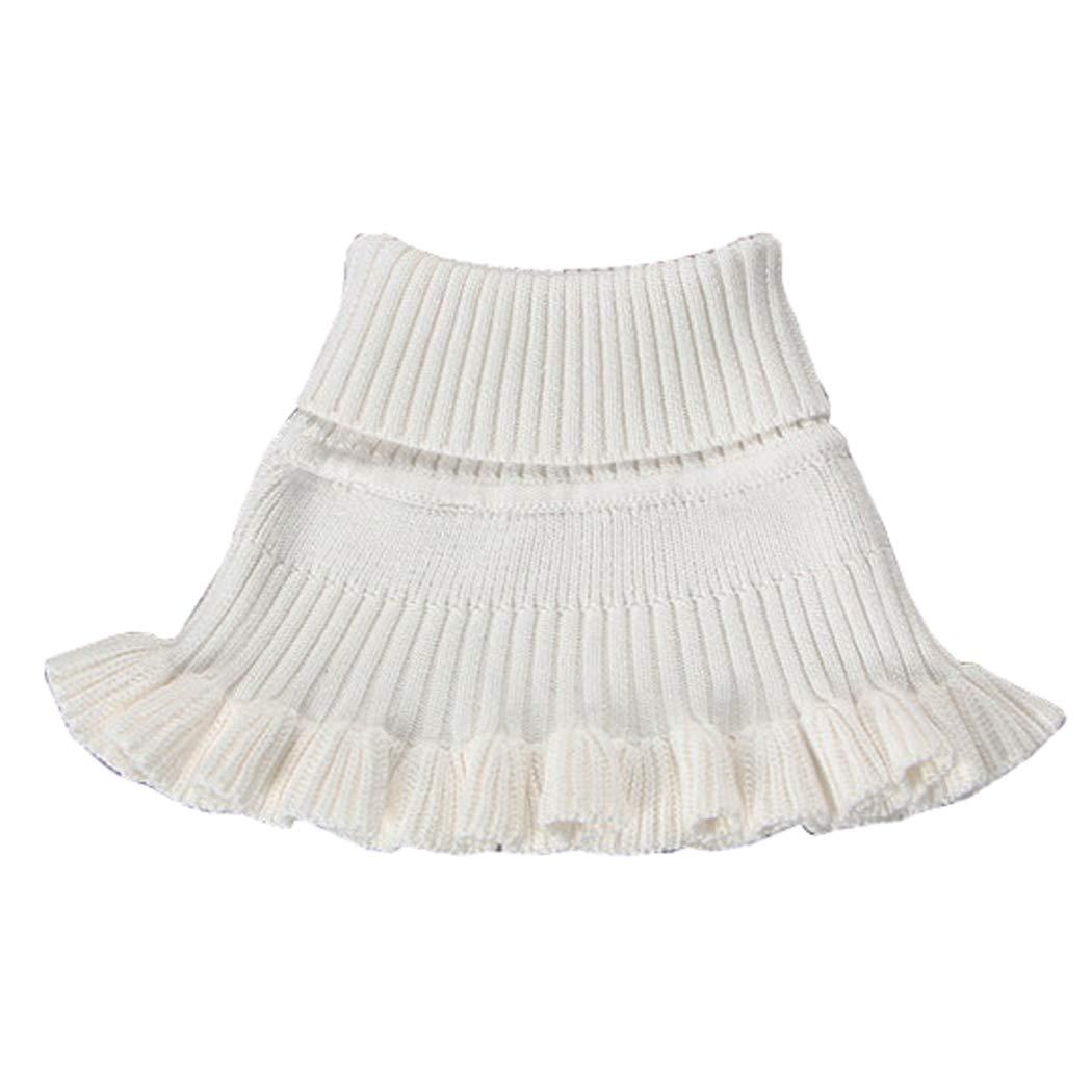 Wennikids Kids Toddler Girls Winter Cable Knit Neck Warmer Circle Scarf