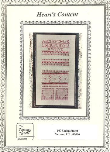 Heart's Content Cross Stitch and Hardanger Sampler